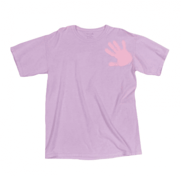 Color Changing Purple Pink Shirt