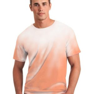 Color Changing Orange White Shirt