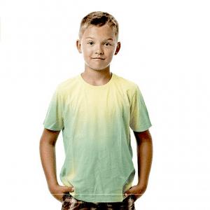Green Hypercolor Shirt For Kids