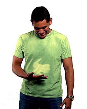 Mens Green Hyper Color Shirt