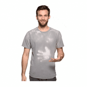 Hypercolor Grey Short Shirt Unisex