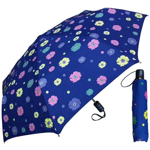 Color Changing Flower Print Umbrella