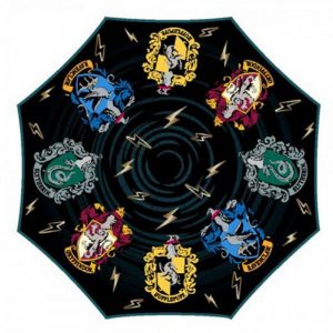 Hypercolor Harry Potter Crests Umbrella