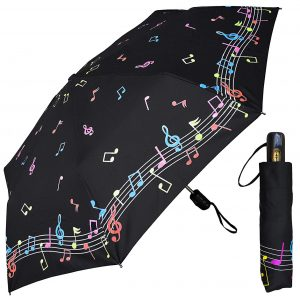 Music Notes Color Changing Umbrella