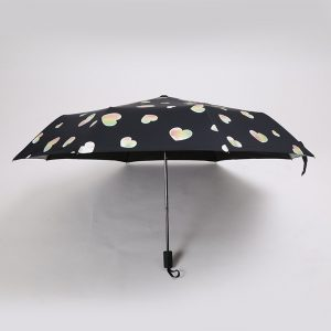 Heart Print Color Changing Umbrella