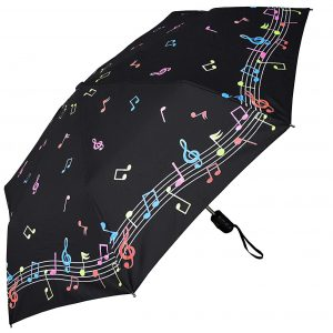 Color Changing Music Notes Umbrella