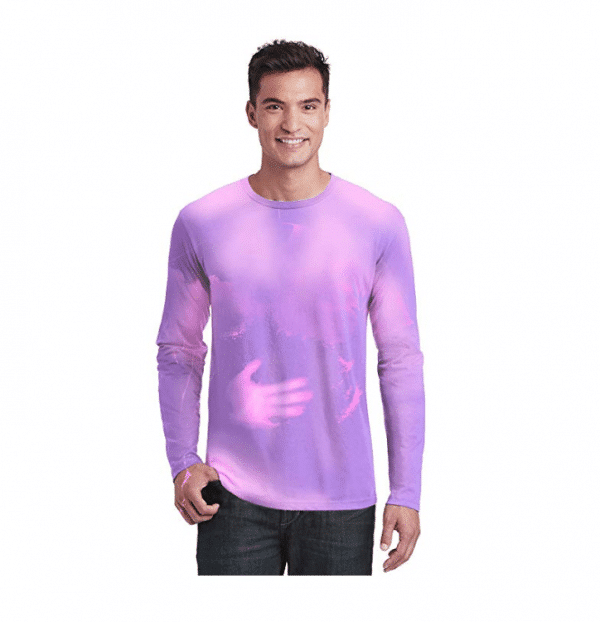 Purple PInk Hypercolor Long Sleeve Shirt