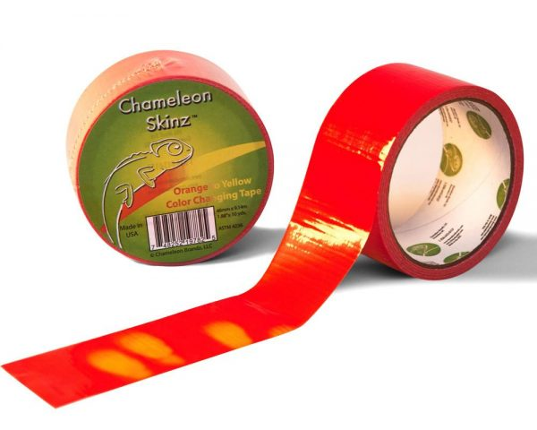 Color Changing Tape Orange to Yellow
